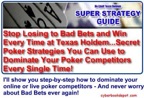 Product picture Secret Poker Systems - Learn How to Play to Win