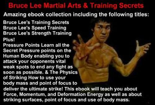 Product picture Bruce Lee Martial Arts & Training Secrets - 5 eBooks