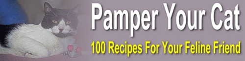Product picture Pamper Your Cat - healthful treats & main meals