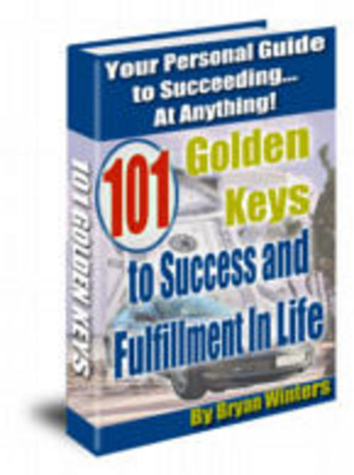 Product picture 101 Golden Keys to Success And Flfillment in Life