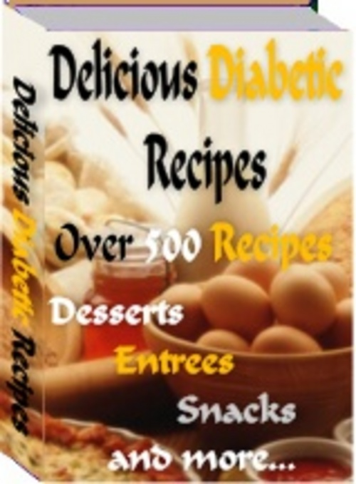 Product picture Over 500 Tasty Diabetic Recipes