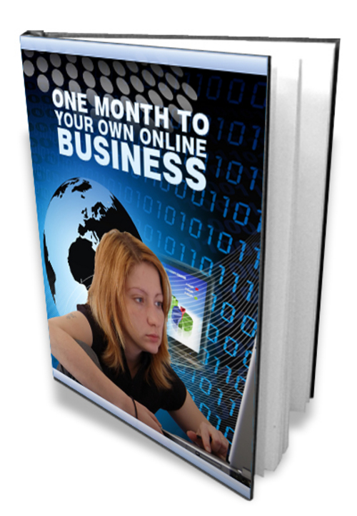 Product picture One Month to Your Own Online Business - MRR included
